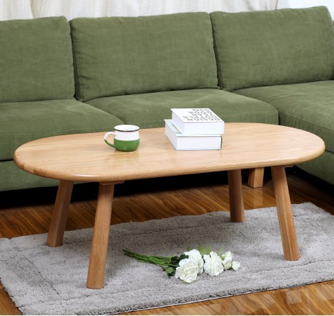 Japanese style furniture solid wood table,wood furniture,100% oak table,long