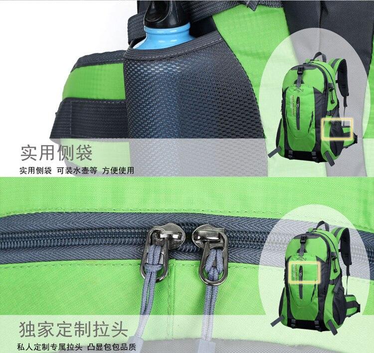acampamento mochila saco de desporto saco tático feminino durável