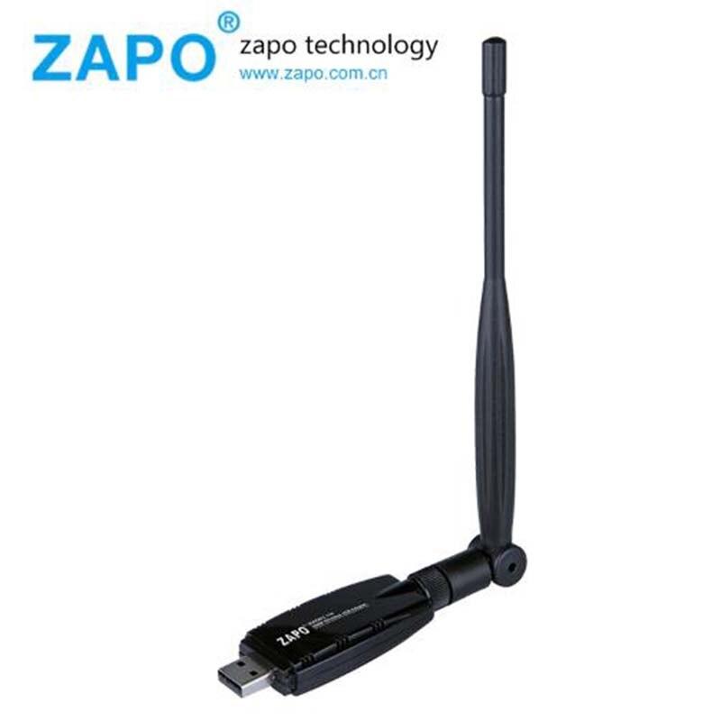 ZAPO 2.4G WIFI USB 300Mbps Lan Adapter Bezprzewodowy odbiornik - Sprzęt sieciowy - Zdjęcie 3