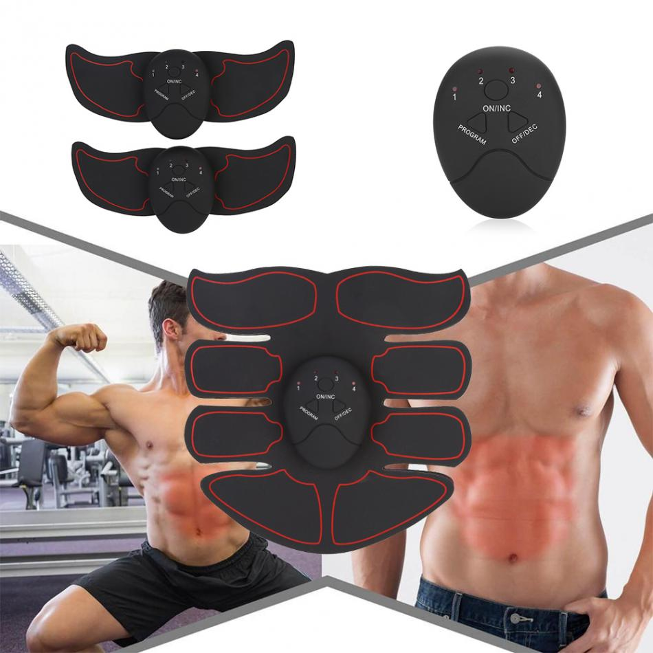 Slimming Fat Burning Exerciser Electric Muscle Training Gym Smart Fitness Muscle Stimulator Abdominal Tool Muscle Stimulator 2