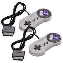 2 قطعة Joypad غمبد تحكم الوسادة ل نينتندو سوبر Famicom SNES القتال قائد تحكم ل نينتندو