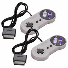 2PCS Joypad Gamepad Controller Pad Für Nintendo Super Famicom SNES Kampf Kommandant Controller für Nintendo