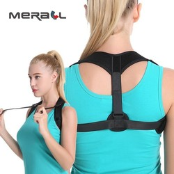 Shoulder Back Support Posture Corrector Humpback Correction Belt Corset  Breathable Adult Children Clavicle Braces Adjustable
