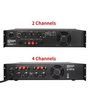 Image 2 - TKL 4 채널 증폭기 300W X4 회의 증폭기 오디오 전문 전력 증폭기 스위칭 전원 공급 장치 HIFI