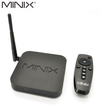 MINIX NEO X6 Android TV Box OS 5.0 Amlogic S805 quad-core 1 ГБ Оперативная память 8 ГБ Встроенная память 1080 P media player Wi-Fi Bluetooth KODI17 Smart TV Box