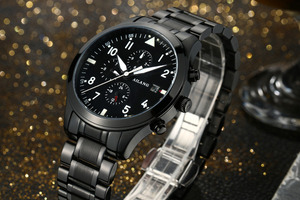 Image 3 - AILANG Luminous Men Sports Automatic Watches Self Wind Calendar Wrist watch Workable 3 Eyes 6 Hands Analog Relojes 3ATM NW7202