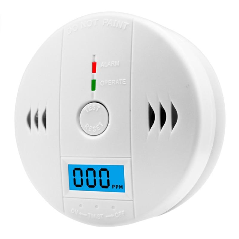 1pc Hot Sale Carbon Monoxide Detector Alarm CO With LCD Digital Display Gas Warning Sensor Alarm Monitor