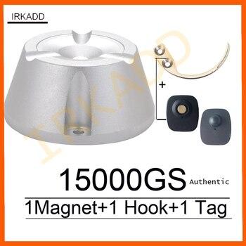 15000GS Универсальный магнитный деташер, магнит для кражи в магазине, 1 шт., крюк, ключ, деташер, бирка для безопасности, деташер, ручной, для снят...