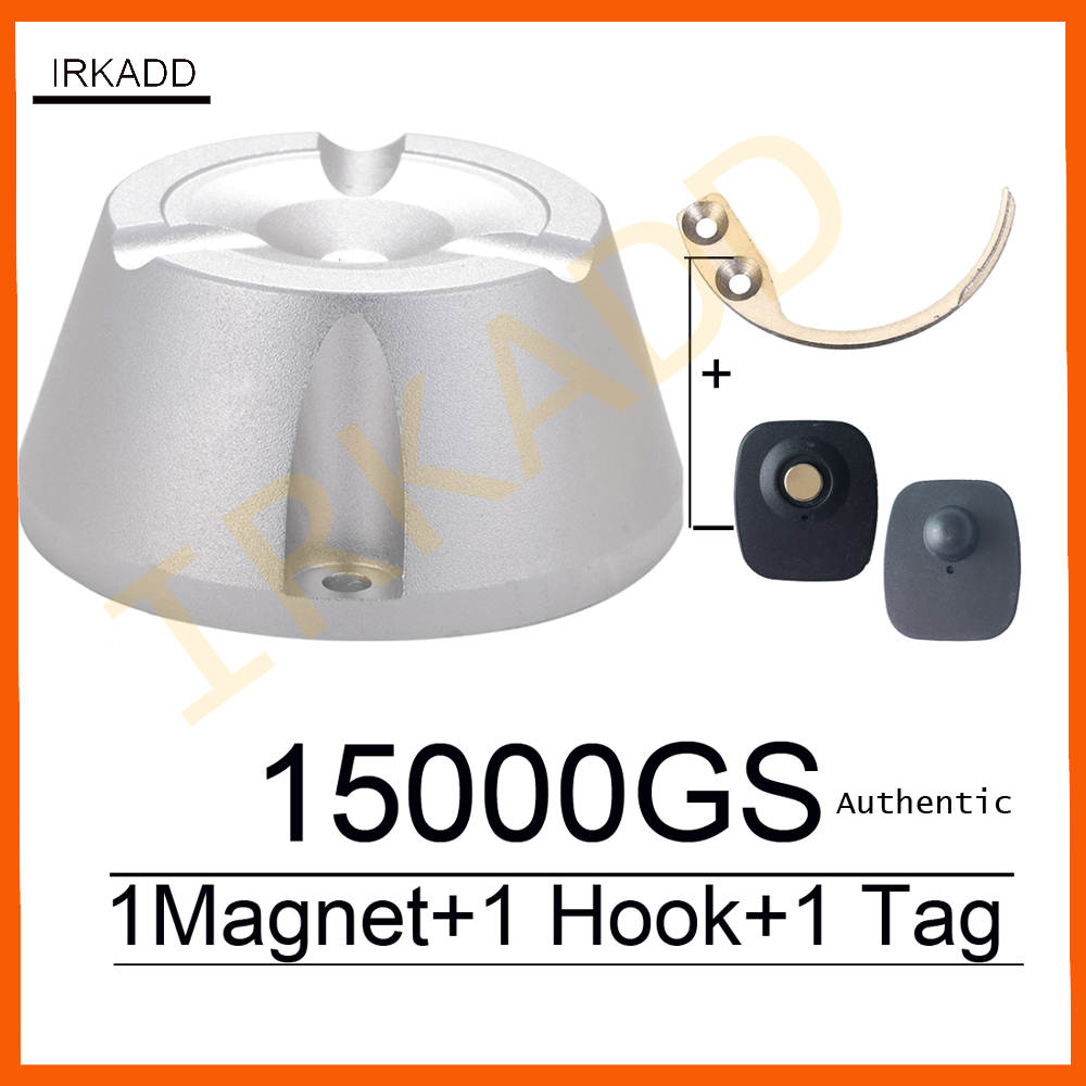 15000GS universal separador magnético robo imán 1 unidades gancho clave separador etiqueta de seguridad de etiqueta removedor