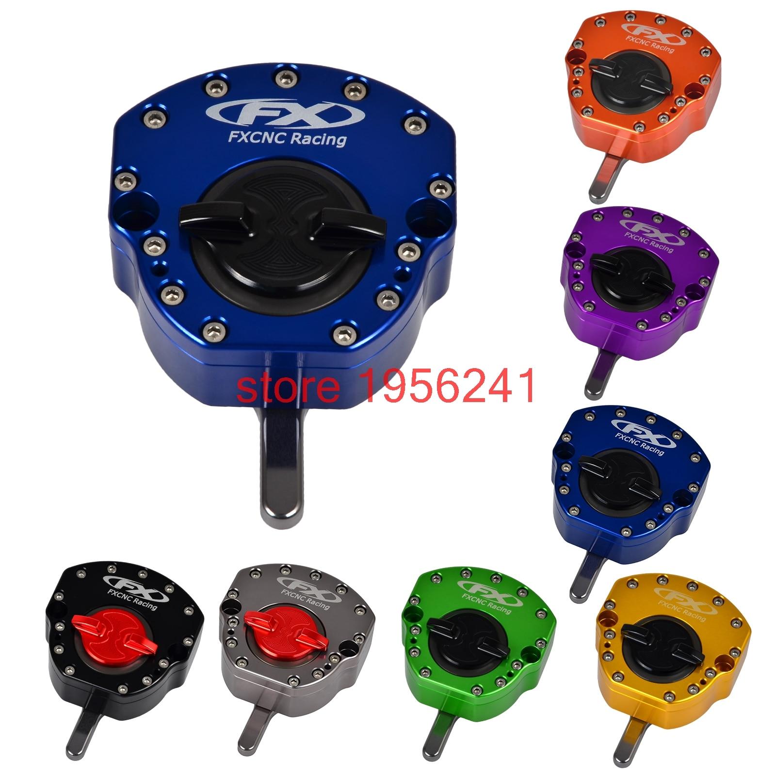Рулевое управление ЧПУ Стабилизатор демпфер для Kawasaki ниндзя EX250R 08-12 EX300R 13-15 13-14 запросу zx6r ZX636 ZX в-6р 07-12 ZX10R на ZX-10r с 04-13