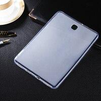 클리어 소프트 매트 tpu 젤 커버 case 스킨 samsung galaxy 탭 s2 8.0 sm-t710 t715에 태블릿 case 실리콘 보호 커버 카파