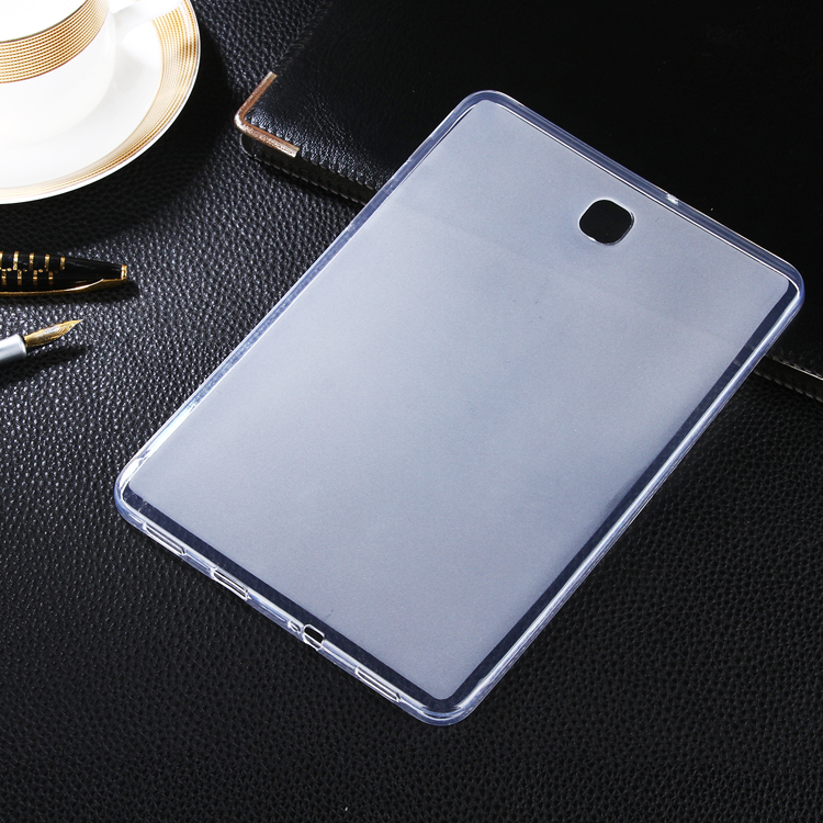 Фото Clear Soft Matte TPU Gel Cover case Skin For Samsung Galaxy Tab S2 8.0 SM- T710 T715 Tablet case silicone Protective cover capa