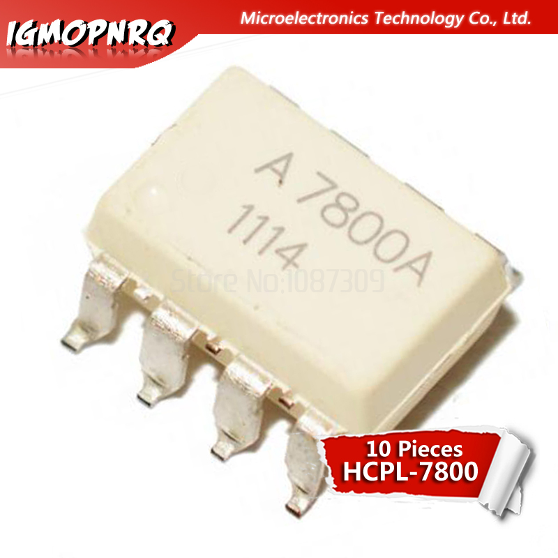 10 PCS HCPL-7800 DIP-8 HCPL7800 A7800 High CMR Isolation Amplifiers