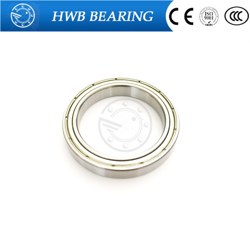 1pc Thin-walled Deep Groove Ball Bearings Steel ball 16010zz  50*80*10mm  16010ZZ 1pcs 71901 71901cd p4 7901 12x24x6 mochu thin walled miniature angular contact bearings speed spindle bearings cnc abec 7