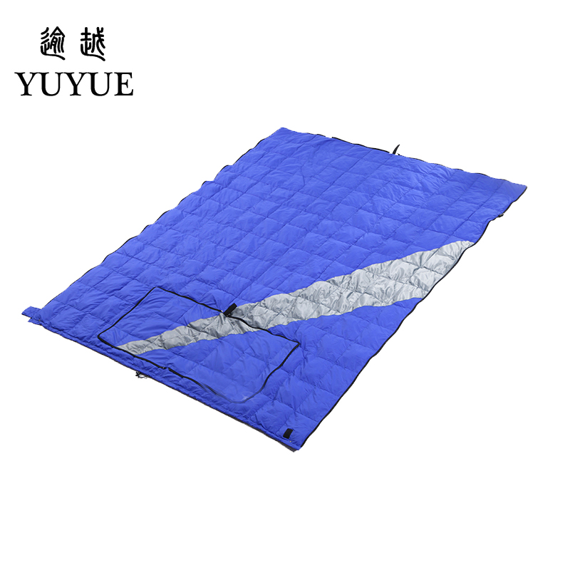 High Quality Light Down Sleeping Bag Ultralight For Camping Tent Soft Sleeping Bag Multi-function Pillow For Car Sofa Sleep Bag 2