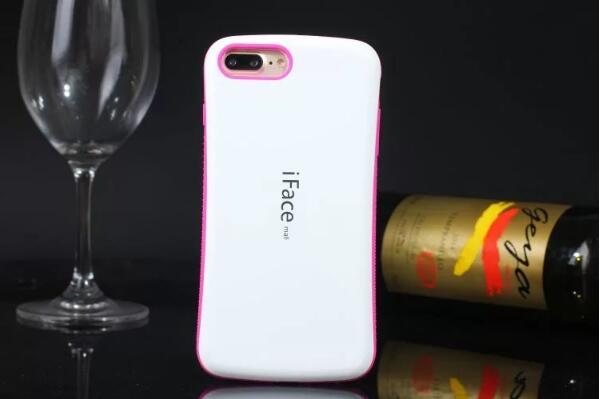 imágenes para Comercio al por mayor antichoque iface mall case para iphone 5 5s doble coincidencia de color de nuevo teléfono celular de la piel shell protector para el iphone se