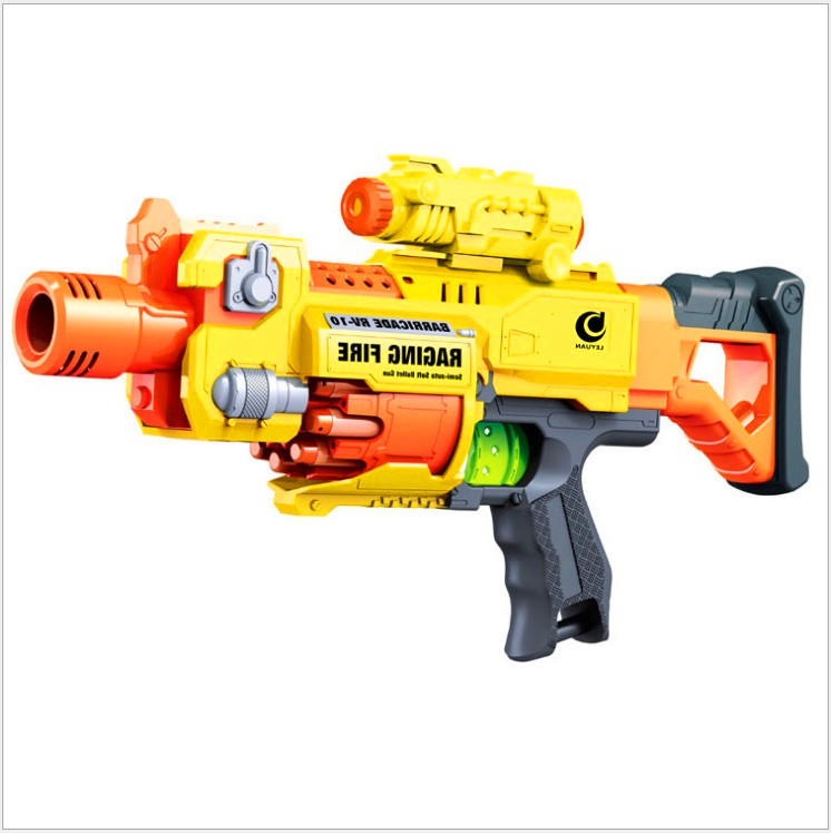 Children's Toy Gun Electric Automatic Rapid Fire Long