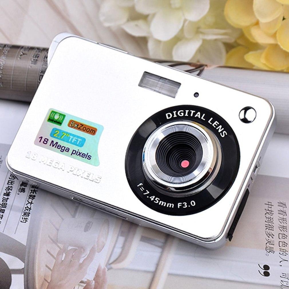 2.7 pouces TFT HD caméra numérique LCD affichage 18MP 720 P 8x Zoom Anti-secousse caméscope vidéo CMOS Micro caméra enfants cadeau - 5