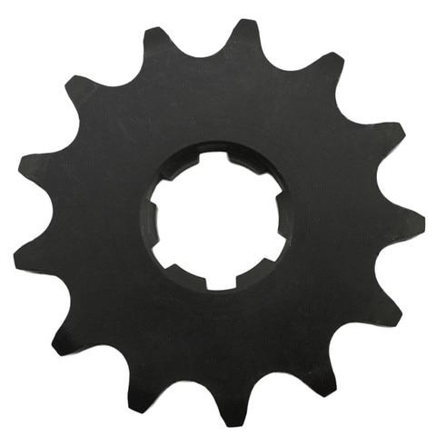 pecas da motocicleta roda dentada dianteira 13