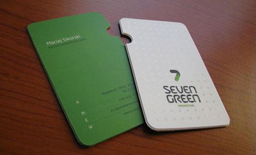 600gsm Custom Personalized Special Shape Business Card Spot Uv
