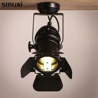 1 Pcs Smuxi Retro Minimalist LED Tracking Light Spot Light Ceiling Lamp 110V 220V Indoor Lighting