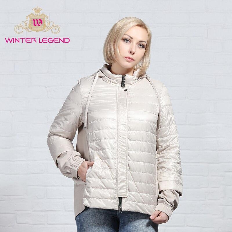 AllureAmore Winter 2019 New   Parkas   basic jackets Female Women Winter plus velvet lamb hooded Coats Cotton Winter Jacket Womens