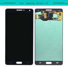 100% Tested 1pcs For Samsung Galaxy A7 SM-A700F A700F LCD Display+Touch Screen Digitizer Assembly with free shipping(China)