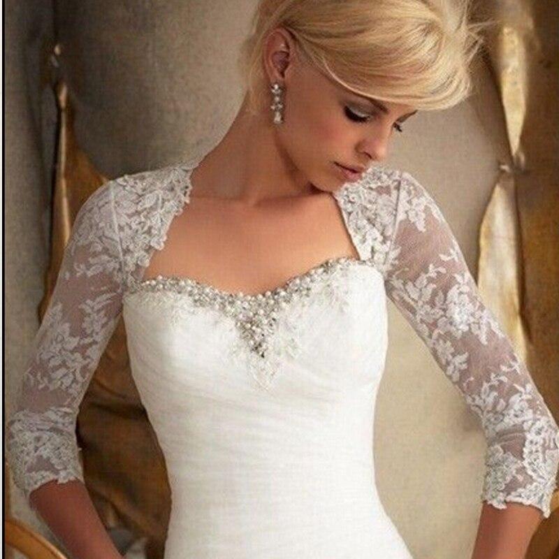 buy wejanedress white lace shawl bridal bolero jacket for evening dresses bare. Black Bedroom Furniture Sets. Home Design Ideas