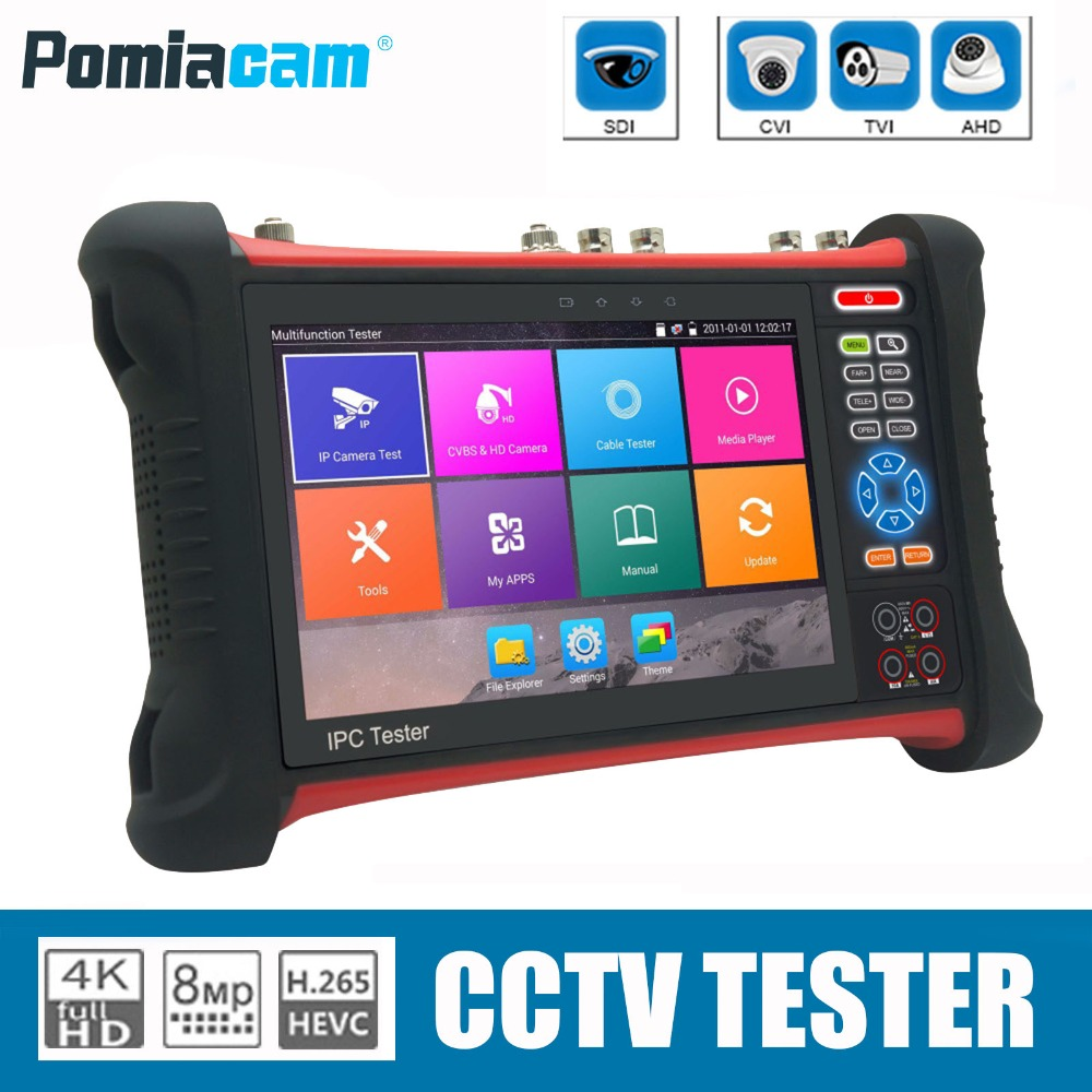 X7 DHL EMS shipping 7inch Touch monitor font b Camera b font Tester CCTV Tester Monitor