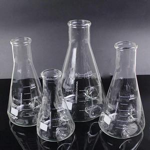 500ml 3 Concave GG17 Glass Fla
