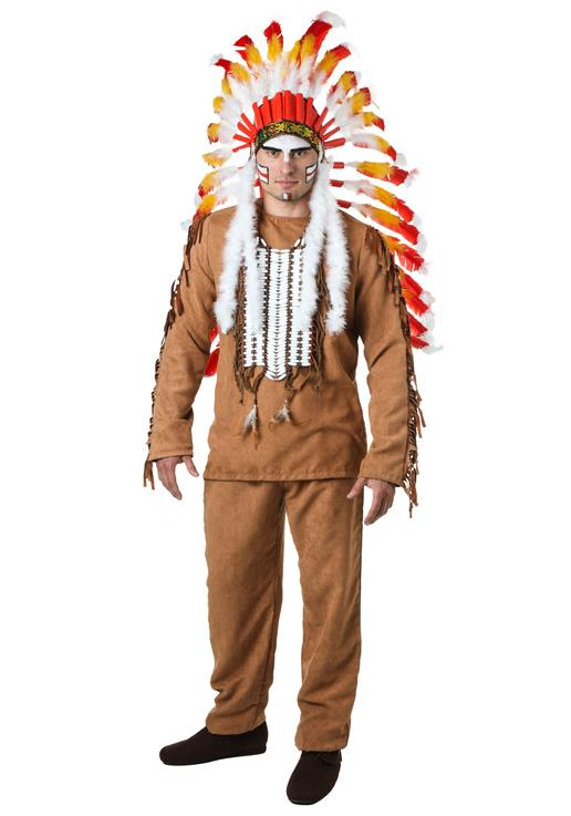 adult indiana cosplay costume male cacique clothes halloween indian chief party cosplay clothes photography movie props - Halloween Indiana