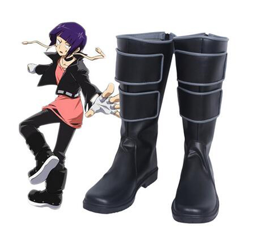 My Hero Academia Kyoka Jiro Cosplay Boots Shoes Halloween Carnival Cosplay Costume Accessories For Men Custom Made Shoes