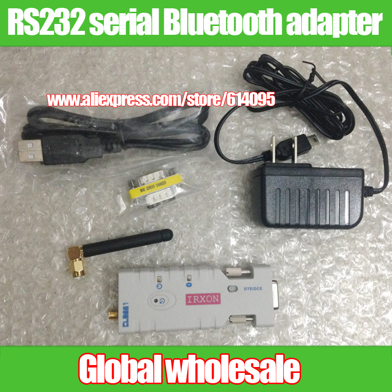 Bluetooth wireless serial communications Class1 RS232 serial Bluetooth adapter replace RS232 serial communication line