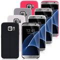 Цвет Двойной Линии Мягкая Обложка ТПУ Case для Samsung Galaxy S7 S7 S6 Край Край S6 S6 Edge plus S5 Примечание 5