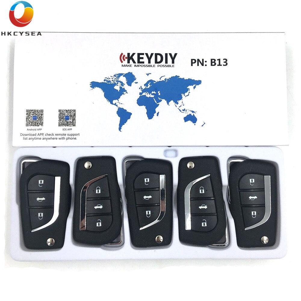 HKCYSEA 5PCS LOT Universal KEYDIY B Series 3 Button Remote Key Control B Series B13 for