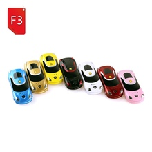 Newmind F3 Arabic Quad-band bar low price small size mini sport cool supercar car key model cell mobile phone cellphone(China)