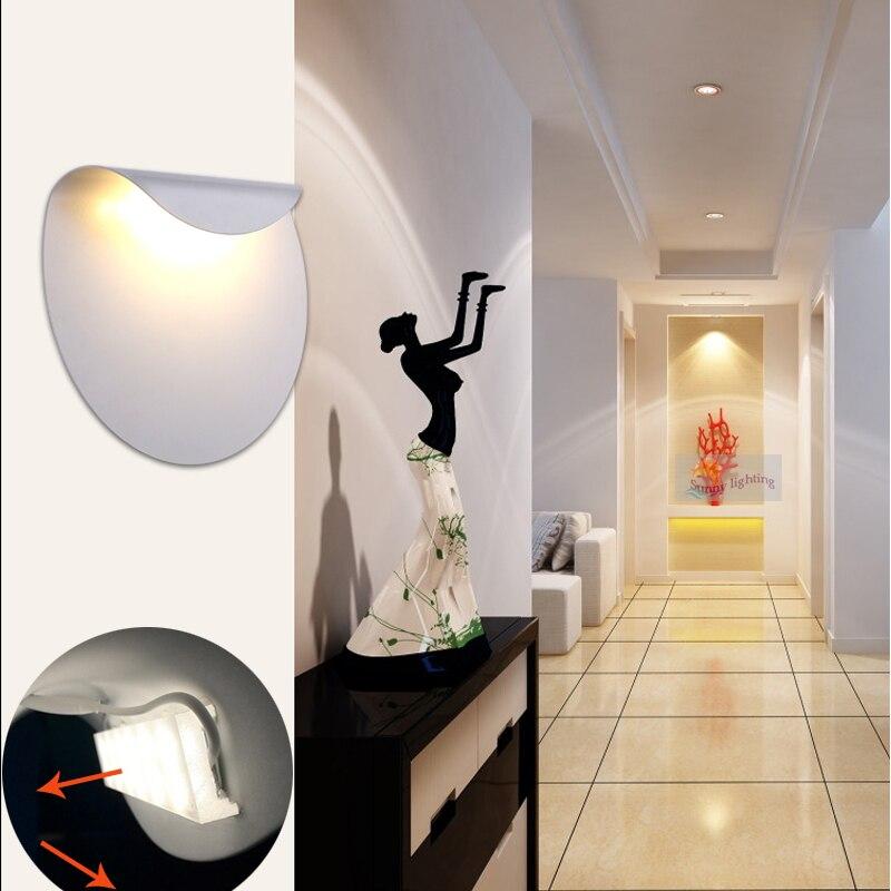 54 05 13 De Reduction Nouveau Design 6 W Led Lampes En Aluminium Chambre Applique Murale Miroir Lumiere Montage Mural Lumieres Pour Salon Escalier