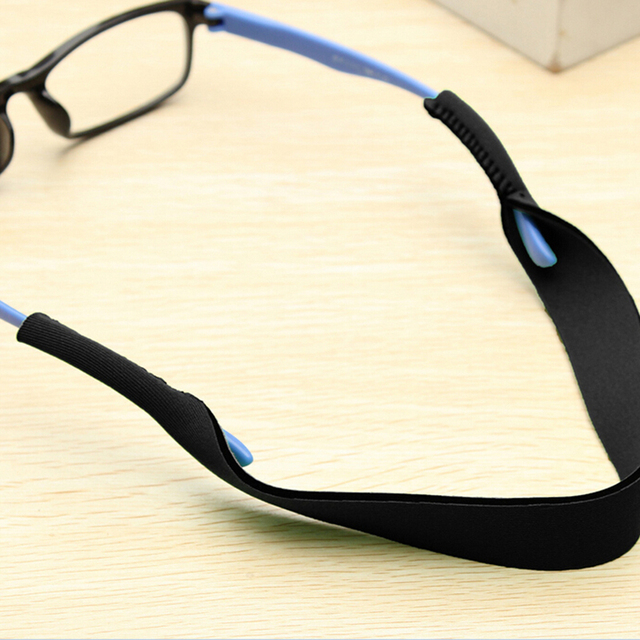 57b598b39d25 Anti Slip Strap Neoprene Spectacle Glasses Stretchy Neck Cord Outdoor  Sports Eyeglasses String Sunglass Rope Band Holder 4Colors