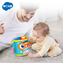 HOLA 3122 Baby Soother & Acticity Toy with Lights/Music/Language Speaking Toys for Children