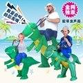 Dinossauro Inflável Sumo Traje Pais Terno Festa de Natal do Dia Das Bruxas Cosplay Dragão Inflável Macacão B-4037