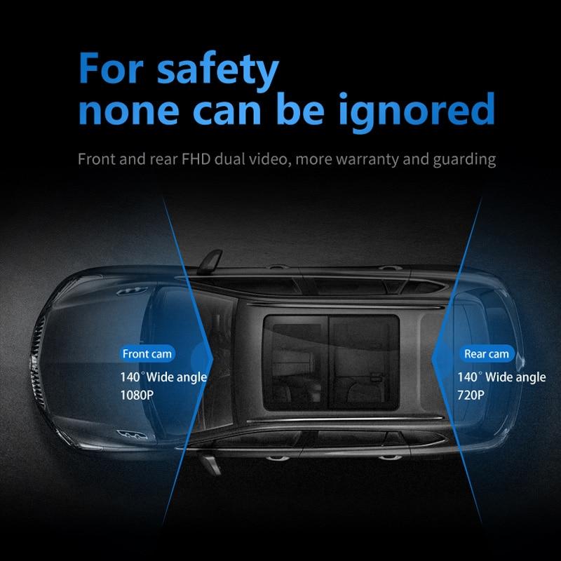 JADO D230 corriente espejo retrovisor Dvr dash Cámara avtoregistrator 10 pantalla táctil IPS Full HD 1080 P coche Dvr dash cámara de visión nocturna - 5