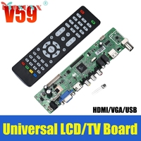Del V59 Universal LCD TV Controller Driver Board PC VGA HDMI USB Interface May09