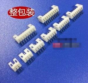 50 Uds., conector PH2.0 de 2,0 MM, conector macho de inclinación 2P 3P 4P 5P 6P 7P 8P 9P 10P, aguja de ángulo recto para tablero de PCB PH 2MM