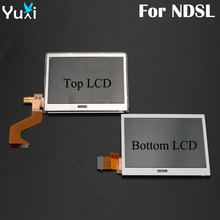 цена на YuXi Replacement Parts Top Upper LCD Botton Lower LCD Display Screen For Nintendo DS Lite For DSL For NDSL