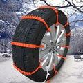 10Pcs Car Vehicle Plastic Anti-Skid Safety Tyres Wheels Snow Chains Belt Set