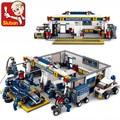 Sluban F1 Racing Car 741pcs Educational Bricks Toy Without original Box  Children DIY Kids Toys Kids Best Christmas Gifts