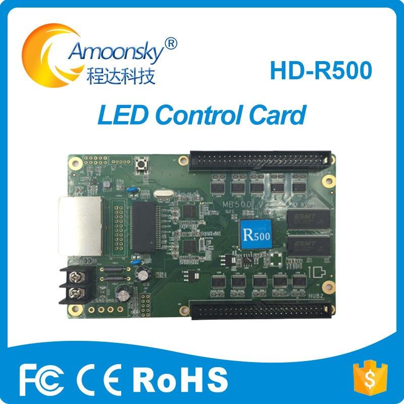 HD-R500 LED Receiving Card RGB LED Display Control Card Work With HD-C10 HD-C30 HD-A30 HD-A30+ HD-A601 602 603