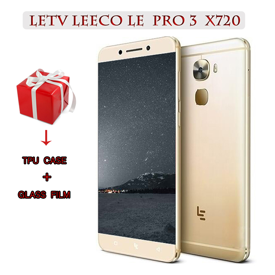 """Letv LeEco Le Pro 3 X720 Snapdragon 821 5.5"""" Dual SIM 4G LTE Mobile Phone 6G RAM 64G ROM 4070mA"""