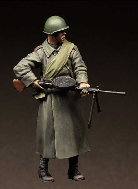 1:35 масштаб смолы модель комплект модельная фигурка из смолы советского солдата A3042