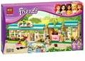 BELA 10169 Building Blocks Friends Heartlake Pet Hospital Assemble Educational Bricks Toys for Girls Compatible with Legoe